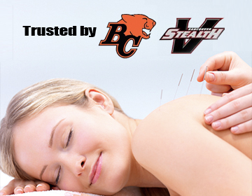 Trusted by BC Lions and Vancouver Stealth